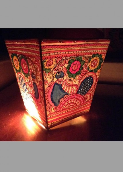 WALL LAMPSHADES -PEACOCK BLOOM
