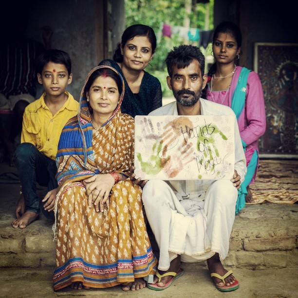 artisan kamlesh and family