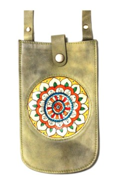 MOBILE POUCH/VICTORY FLOWER (Vintage Yellow)