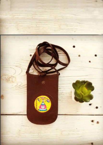 MOBILE POUCH/VINTAGE PHONE