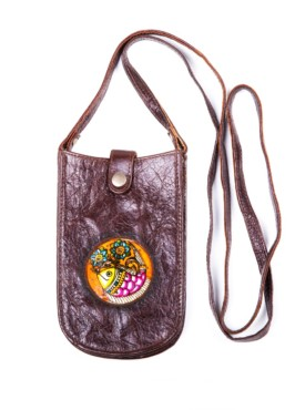 MOBILE POUCH / BLISS (Brown)