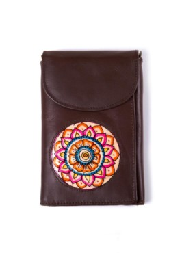 WALLET-THREE FOLD/FLOWER