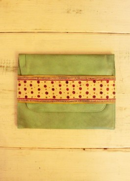 CLUTCH SLIM/FLORAL CHINTZ