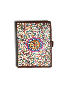WALLET PASSPORT/DAISY – BROWN