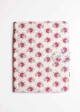 I-PAD SLEEVE/FLOWER