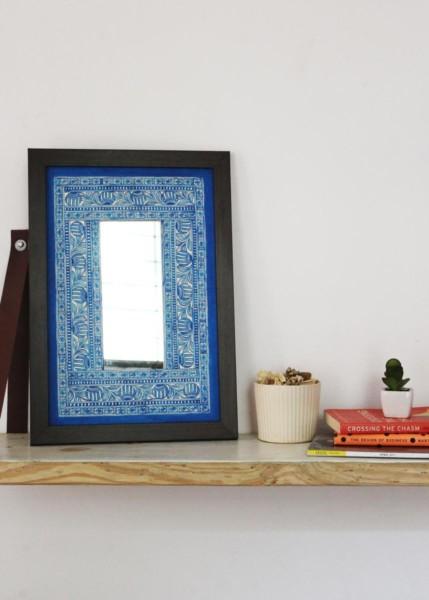 MADHUBANI FRAME-BLUE